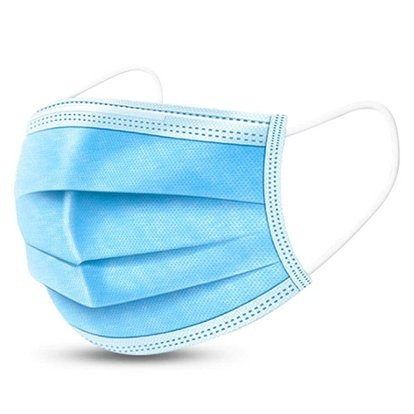 Health First Mondmasker - mondkapje BLAUW - 50 stuks - Wegwerp