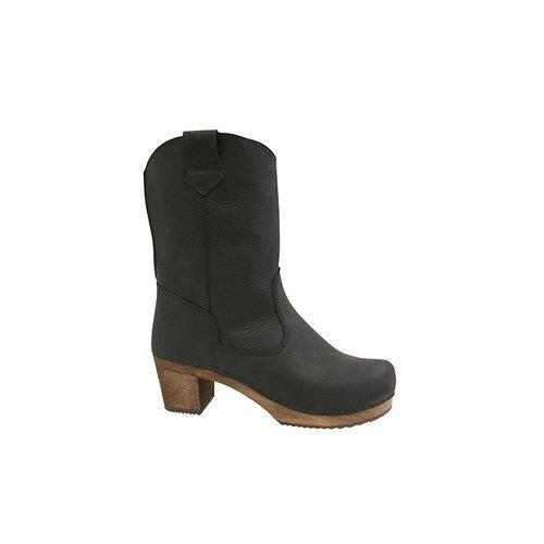 Sanita klomplaarzen Laurel zwart 478323