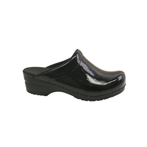 Sanita klompen Silke zwart 7450074