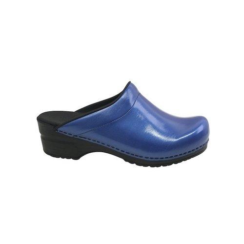 Sanita klompen Silke blauw 7450074