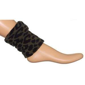 Boot top Bonnie Doon leopard olive