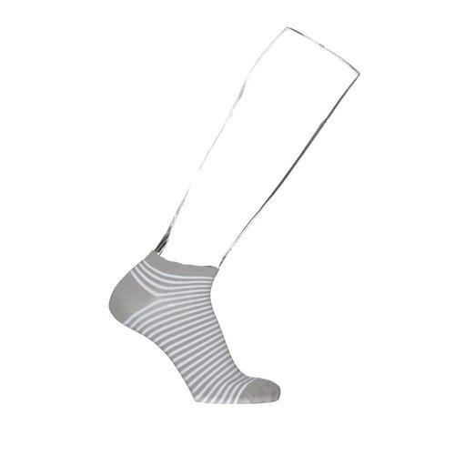 Bonnie Doon breton stripe sock grey BN742001 heren