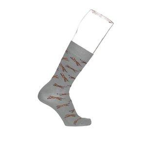 Bonnie Doon Jumping Tiger sock heren BN942115