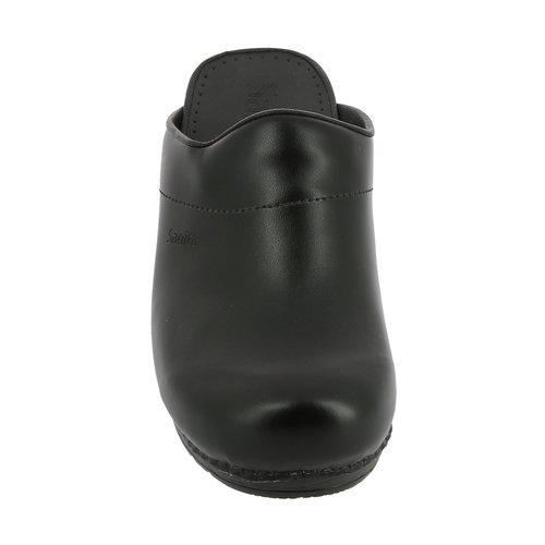 Sanita klompen Karl zwart 1500050
