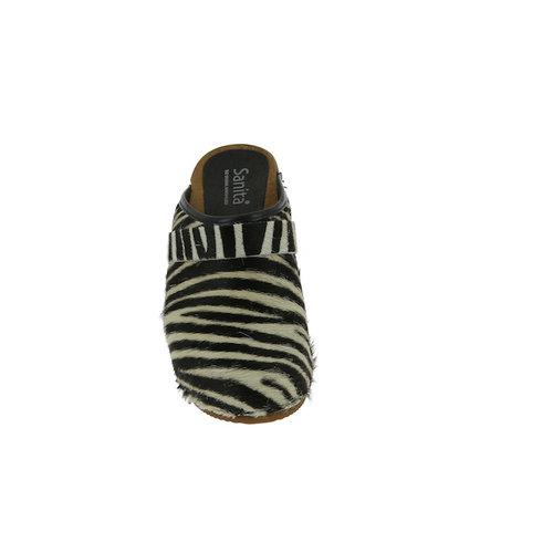 Sanita klompen Caroline zebra 1706199W