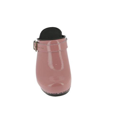 Sanita klompen Freya roze lak 457548