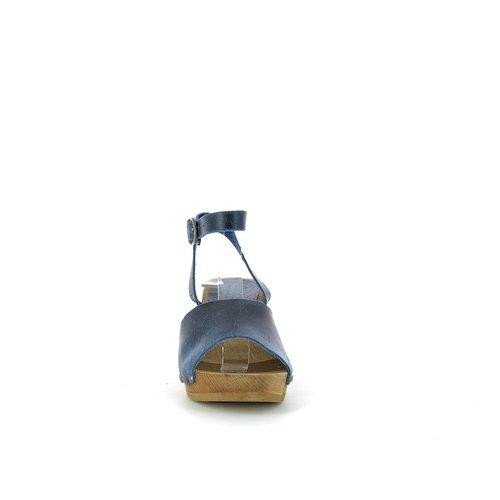 Sanita klompsandalen Yoleen blauw 459357
