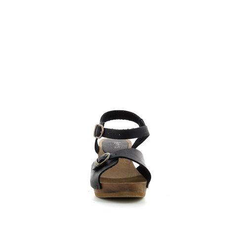 Sanita klompsandalen Tiana zwart 470258