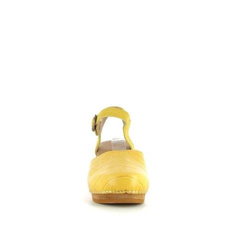 Sanita klompsandalen Rosalina geel 472524