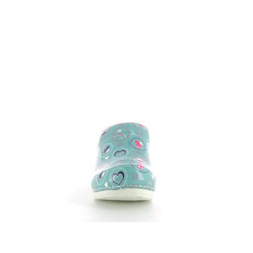 Sanita klompen Nurse cool blue 8564