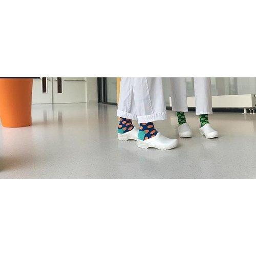 Happy Socks Happy Socks big dot blauw-oranje BD01-6005