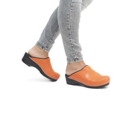 Sanita klompen Sonja oranje 1500047