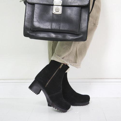 Sanita klomplaarzen Henna Flex zwart 473170
