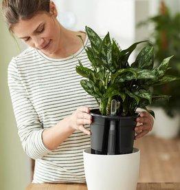 Elho Self-watering pot set (Black)