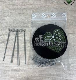 We Love Houseplants Clamps for coconut / moss pole (15pcs)