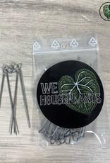We Love Houseplants Klemmen voor koko/mos stok (15st)