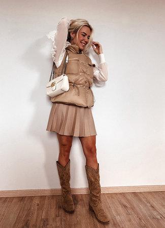 by.AMELLE Bodywarmer Jessie Camel
