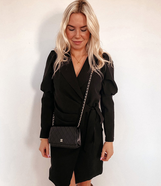 by.AMELLE Blazer Dress Megan Black