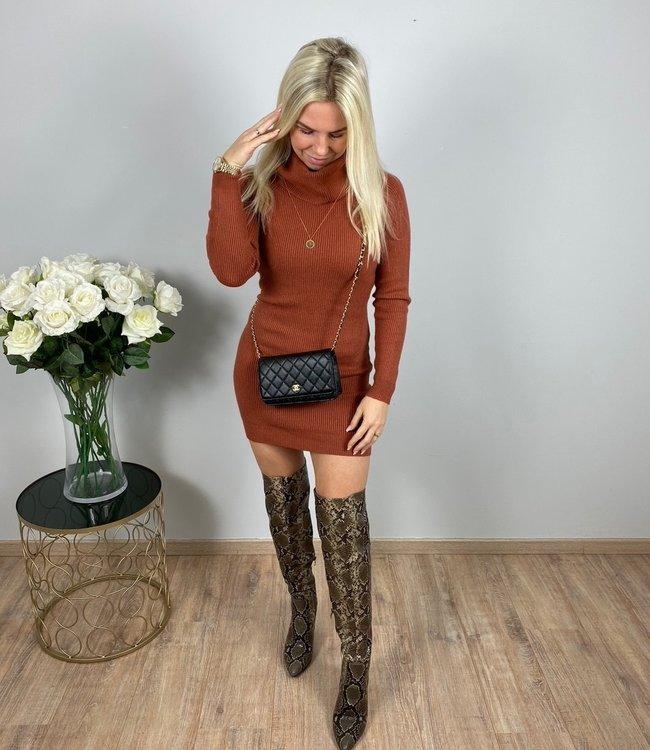 by.AMELLE Sweater Dress Jennifer Brown