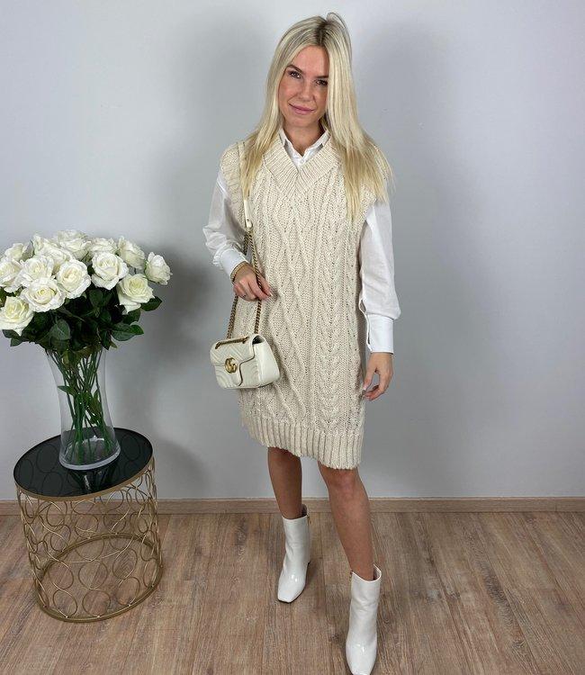 by.AMELLE Spencer Dress Emily Beige