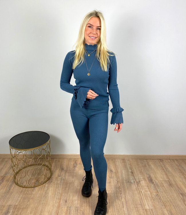 by.AMELLE Comfy Set Jailey Blue