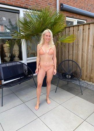 by.AMELLE Bikini Peachy Sparkle
