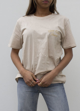 by.AMELLE T-Shirt Dior Girl Forever Beige
