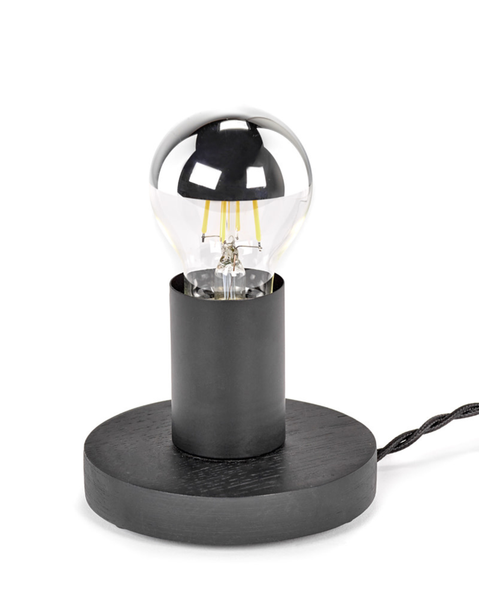 SERAX SERAX TABLE LAMP NR.19-02 BLACK WOOD