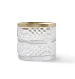 UMBRA UMBRA TESORA BOX GLASS BRASS