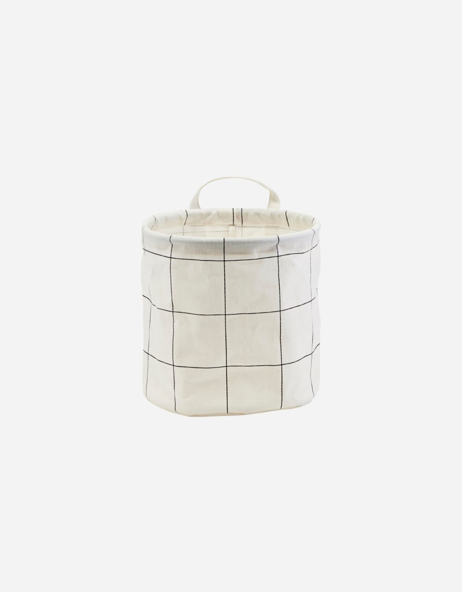 HOUSE DOCTOR HOUSE DOCTOR STORAGE BAG SQUARES WHITE S
