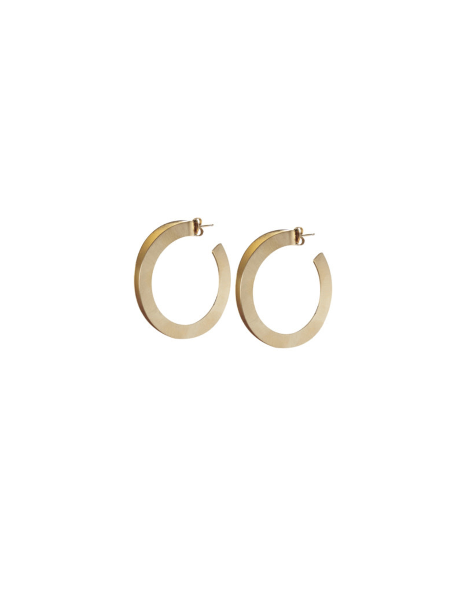 CATH.S CATH.S EARRINGS BRONZE DOUBLE RING