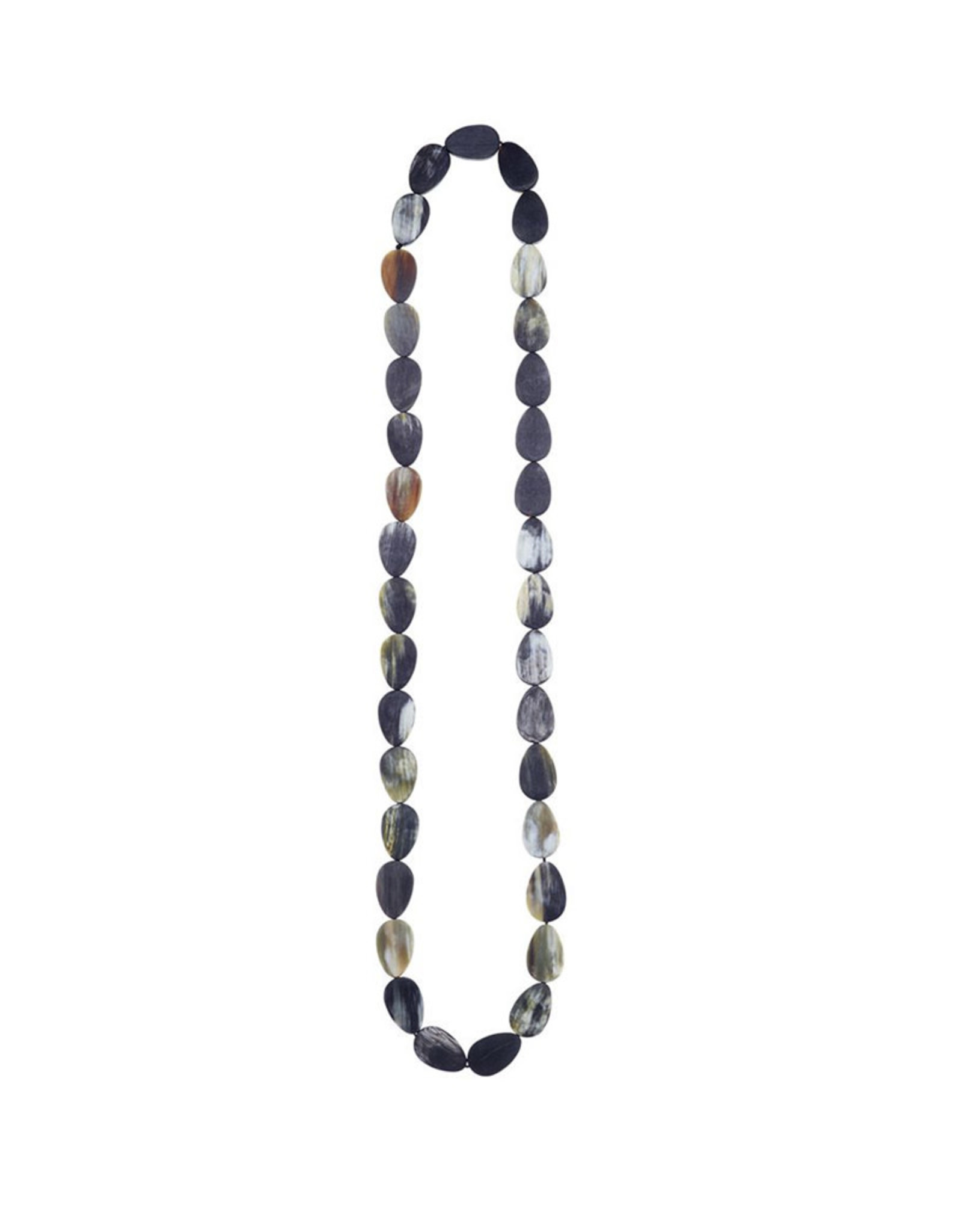 CATH.S CATH.S NECKLACE HORN NEW OVALS LONG