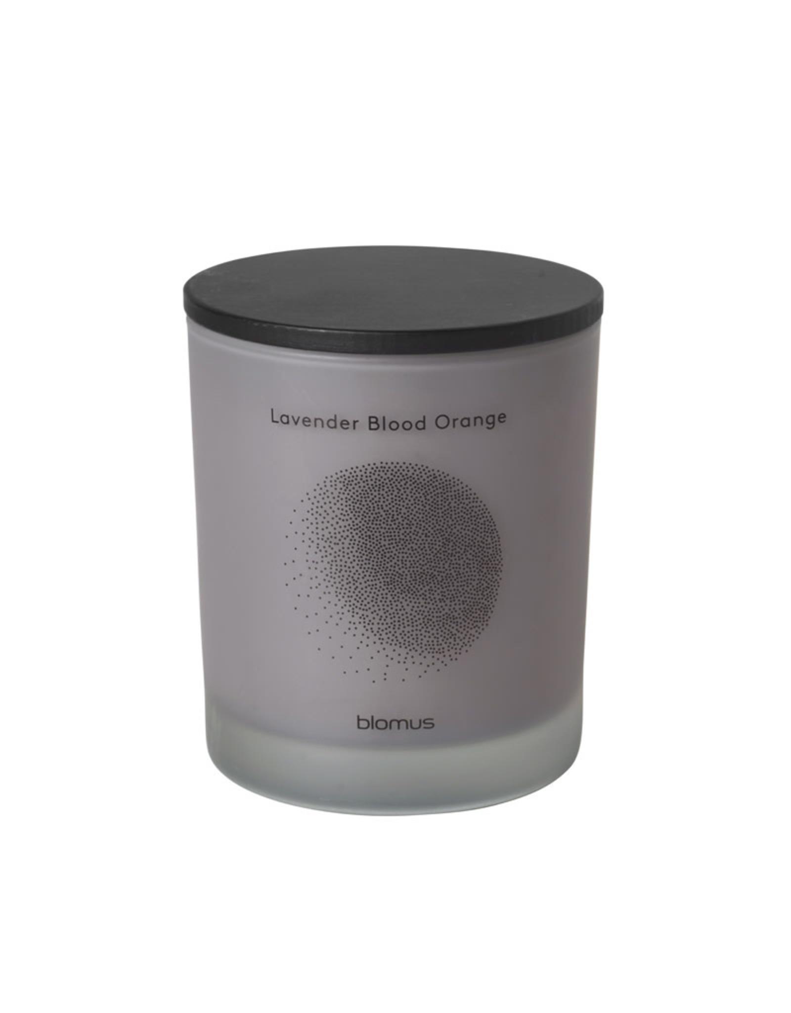 BLOMUS BLOMUS FLAVO SCENTED CANDLE LARGE LAVENDER BLOOD ORANGE