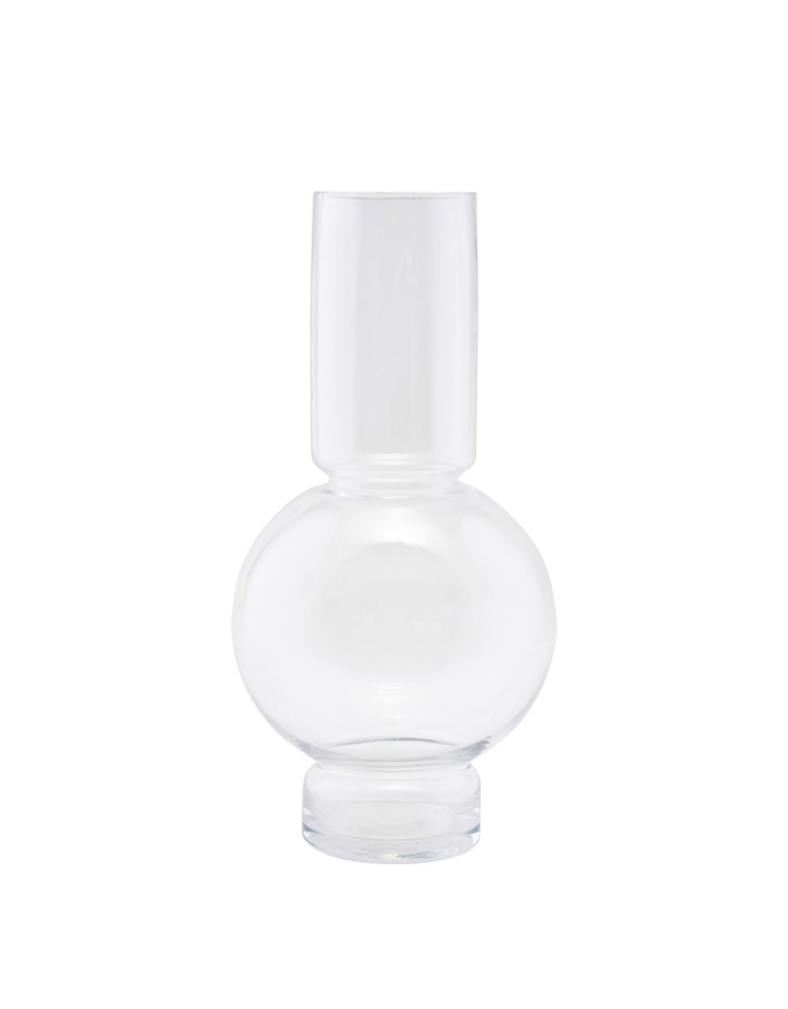 HOUSE DOCTOR HOUSE DOCTOR VASE BUBBLE CLEAR L