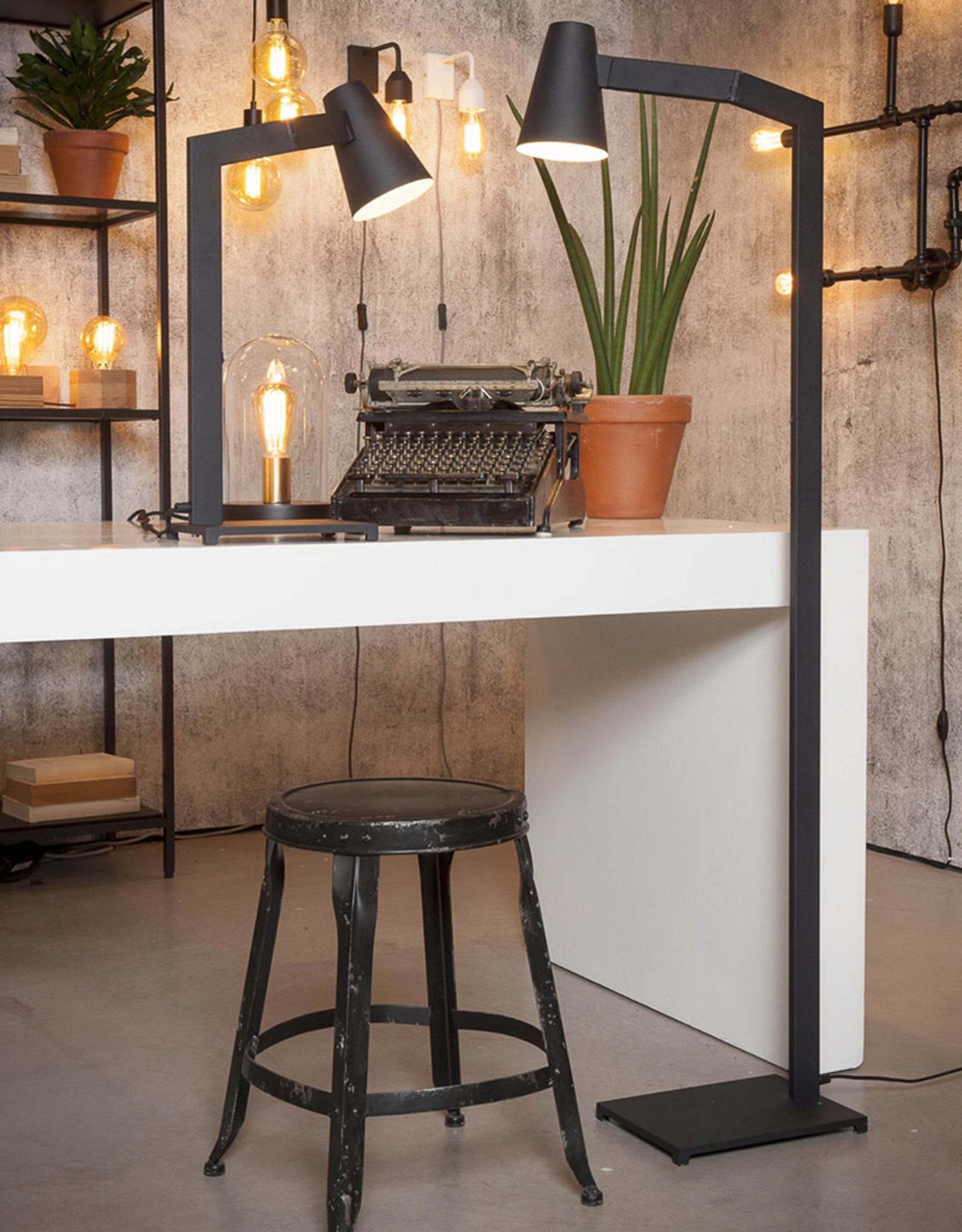 IT'S ABOUT ROMI IT'S ABOUT ROMI BIARRITZ TABLE LAMP BLACK