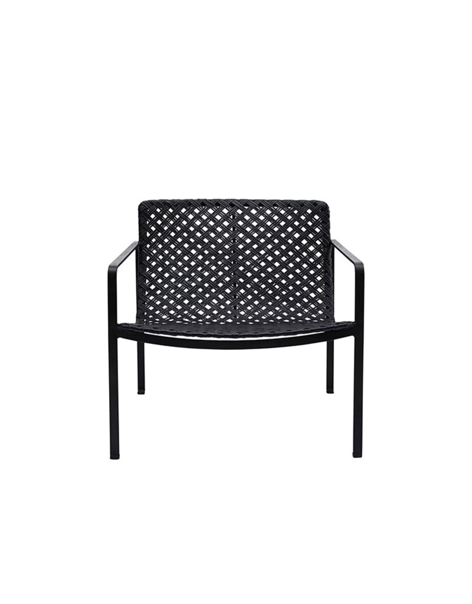 HOUSE DOCTOR HOUSE DOCTOR HABRA LOUNGE CHAIR BLACK