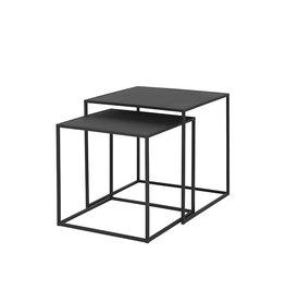 BLOMUS BLOMUS Fera Side Table Set of 2  Black