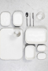 SERAX SERAX MERCI PLATE N° 2 WHITE