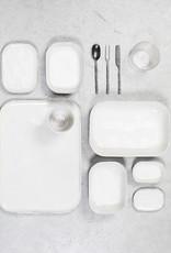 SERAX SERAX MERCI PLATE N° 4 WHITE