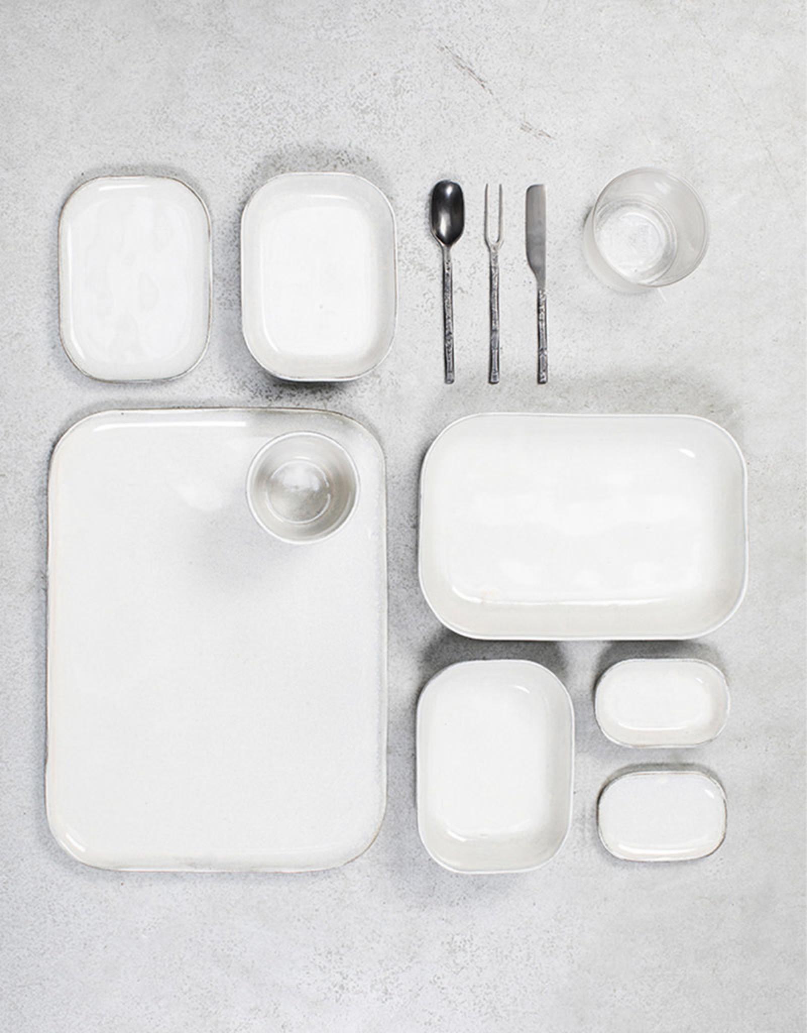 SERAX SERAX MERCI PLATE N° 6 WHITE