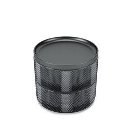 UMBRA UMBRA TESORA BOX GLASS SMOKE
