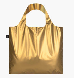 LOQI LOQI BAG METALLIC GOLD