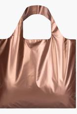 LOQI LOQI BAG METALLIC ROSE GOLD