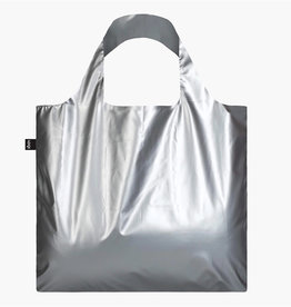 LOQI LOQI BAG METALLIC SILVER