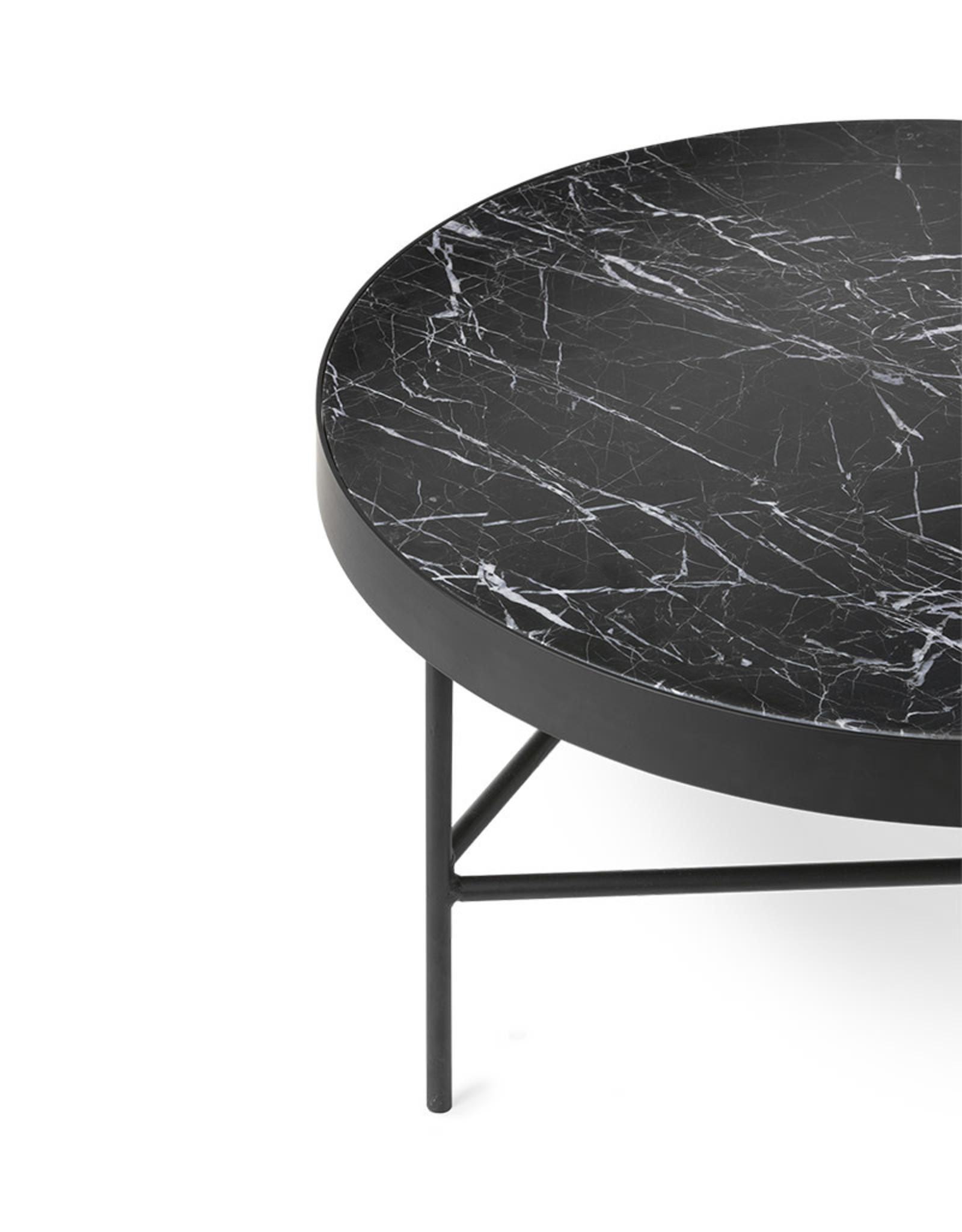 FERM LIVING FERM LIVING Marble Table - Large - Black