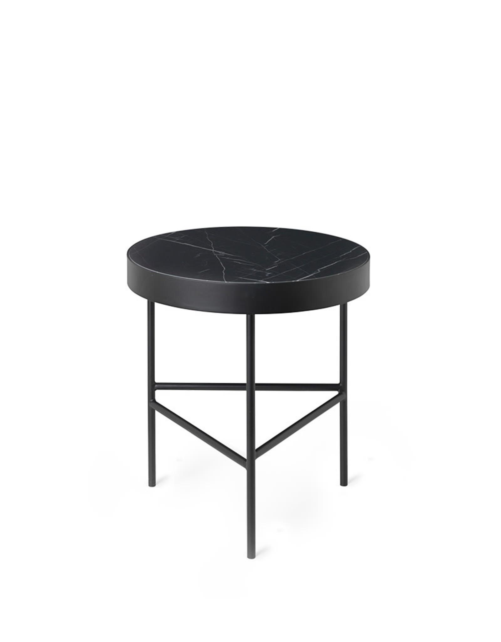 FERM LIVING FERM LIVING Marble Table - Medium – Black