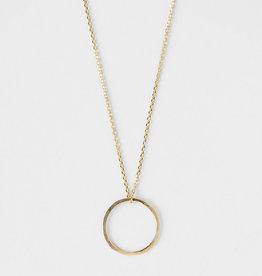 STUDIO ADORN STUDIO ADORN mini circle necklace 9ct gold