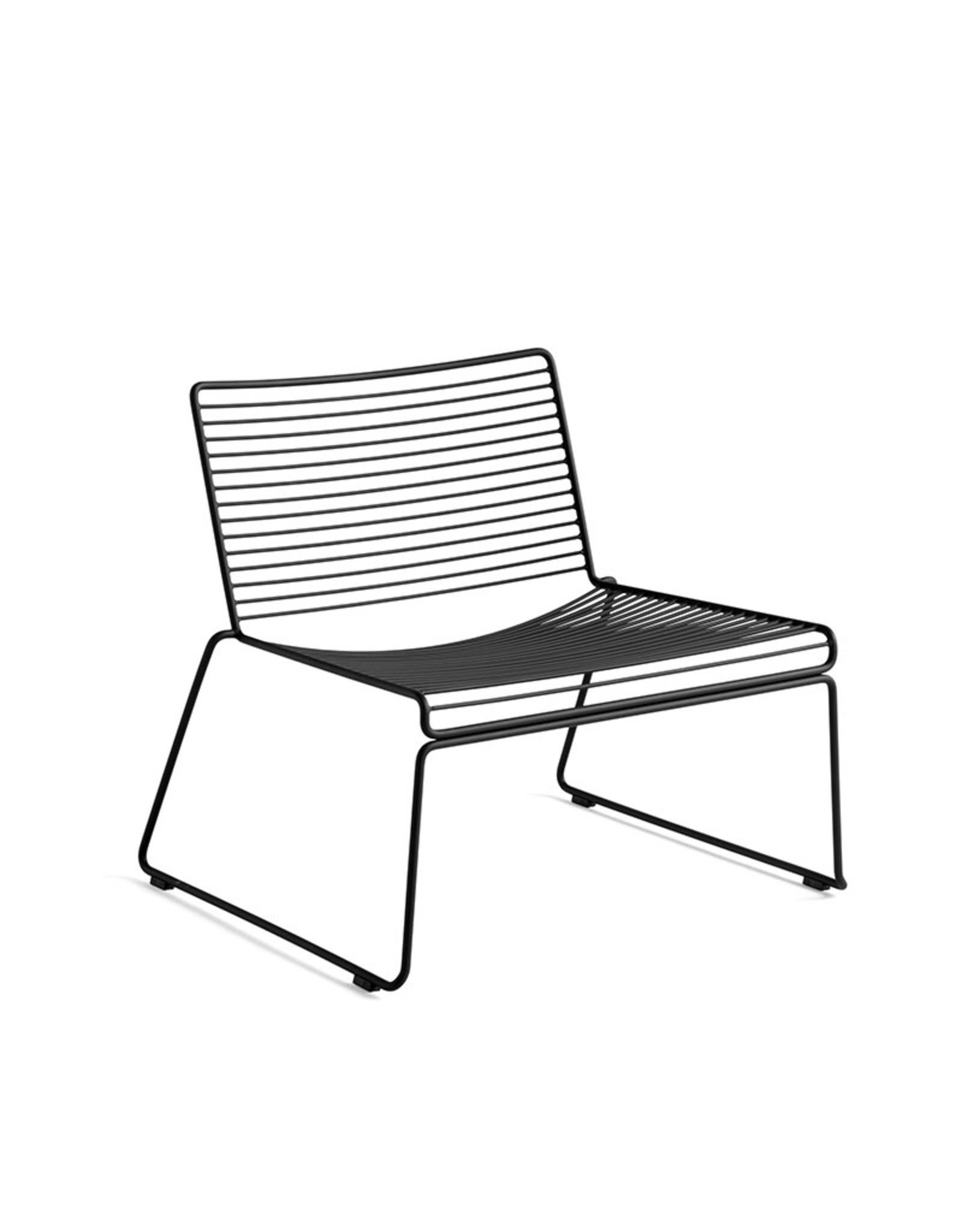 HAY HAY Hee Lounge Chair Black
