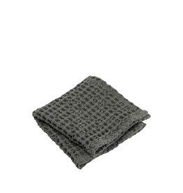 BLOMUS BLOMUS CARO GUEST HAND TOWEL SET OF 2 AGAVE GREEN