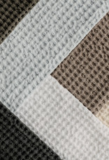 BLOMUS BLOMUS CARO GUEST HAND TOWEL SET OF 2 MOONBEAM